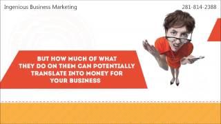 Ingenious Business Marketing Houston, Texas - Get Social Media Optimization Services Today!