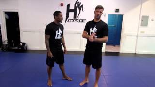 Henri Hooft explaining the low kick