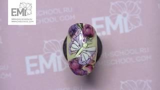 Дизайн ногтей бабочка! Быстро и красиво