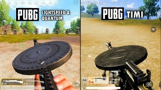 PUBG (QUANTUM VS TIMI STUDIO) Weapons Animation Comparison.