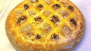 Молочный хлеб Naan Sheermal Персидская мягкая лепешка на  рамазан