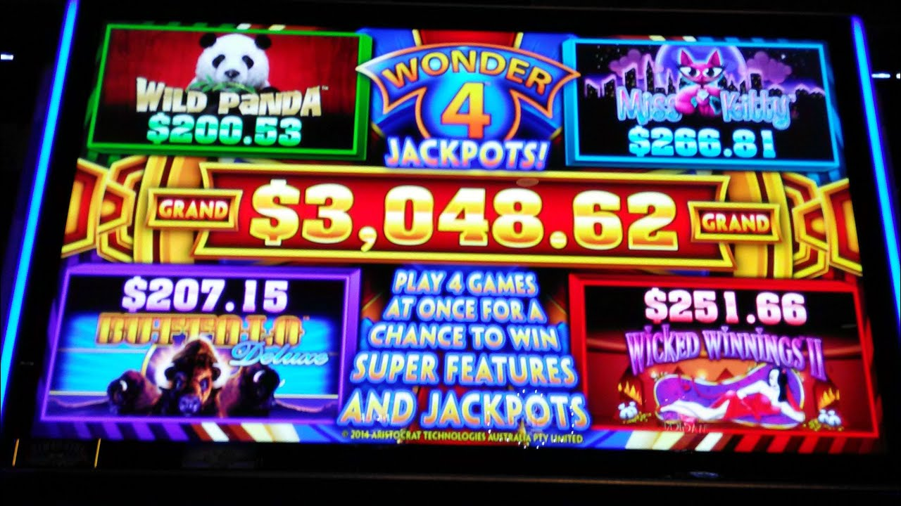 Aristocrat Wonder 4 Jackpots Wicked Winnings 2 3