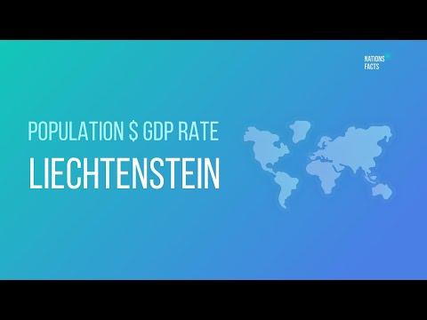 LIECHTENSTEIN Population $ GDP Rate 💰 GDP per Capita ▪ LIECHTENSTEIN GDP Stats