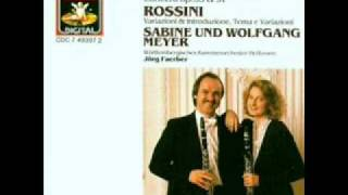 G. Rossini: Introduction, theme and variations