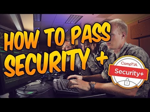 How To Pass Security + / United States Air Force