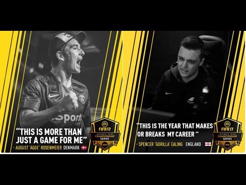 AggeRosenmeier vs Epsilon Gorilla - FIFA17 FUT CHAMPIONSHIP REGIONALS PARIS
