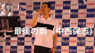 松戸伊勢丹の屋上で歌いました\(^o^)/