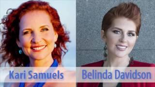 Kari Samuels and Belinda Davidson - Past Lives & Being Psychic Pt 1