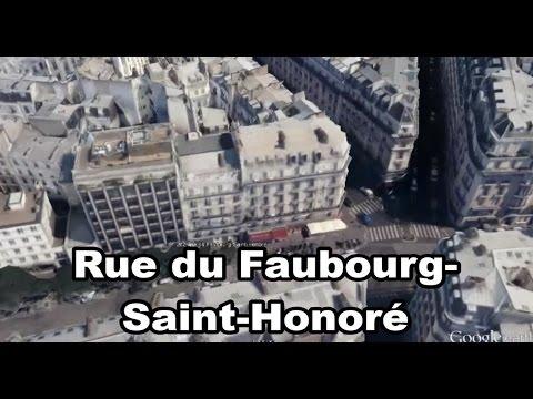 QG Marine Le Pen - Rue du Faubourg-Saint-Honoré - Paris - Île-de-France