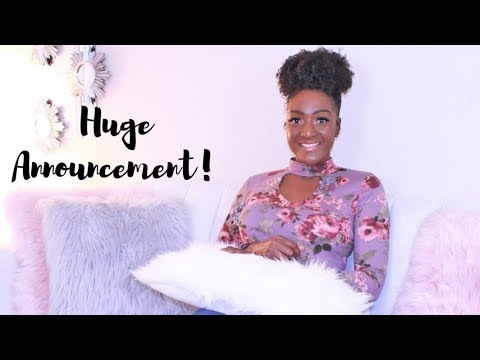 HUGE ANNOUNCEMENT! I am so excited for this!!! | Chanelle Novosey