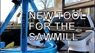 IF YOU HARVEST TIMBER YOU NEED THIS TOOL, NEW EQUIPMENT FOR THE SAWMILL