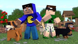Minecraft: NOSSOS ANIMAIS DE ESTIMAÇÃO! (Build Battle)