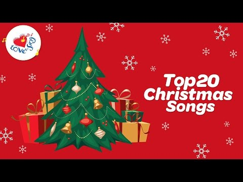 Top 20 Christmas Songs with Lyrics | Children Love to Sing