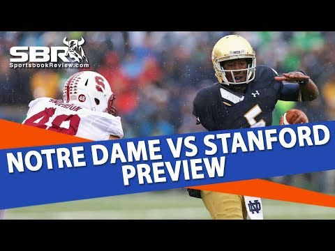 College Football Free Pick | Notre Dame vs Stanford Betting Preview | KellyInVegas