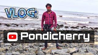 Pondicherry Solo Travel Vlog | Rock Beach | French Colony | South India Vlog Series.