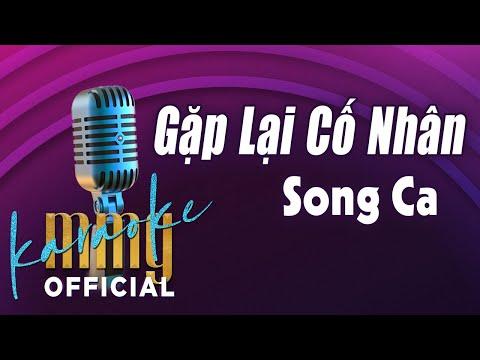 Gặp Lại Cố Nhân Karaoke Song Ca | Hát với MMG Band