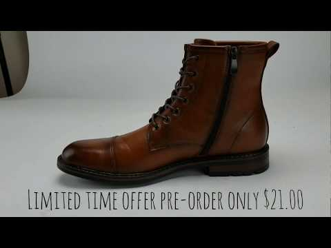 MENS HIGH CUT CARSON VINTAGE MILITARY COMBAT BOOT LIMITED TIME OFFER Best deal on Mens Boots! Jazame