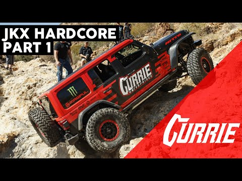 EXTREME NEW MEXICO JEEP TRAILS | JKX HARDCORE PART 1 | CURRIE EQUIPPED
