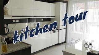 مطبخ عروستنا الجديدة🇹🇷حلم كل سيدة متوفر فهدا المطبخ😲😲