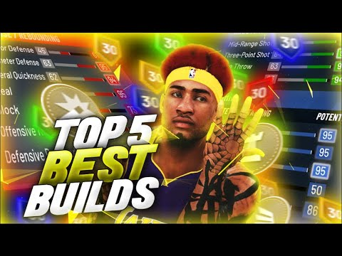 Top 5 Best Builds in NBA 2K20! Most Overpowered Builds in NBA 2K20! *After Patch 10*