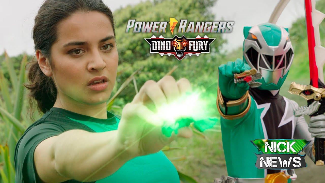 IZZY ¿UNA GREEN RANGER ÉPICA? - POWER RANGERS DINO FURY