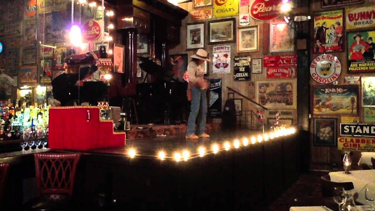 Pistol Packin Paula Mark Little Jan Halsema At Old San Francisco Steak House San Antonio Mov