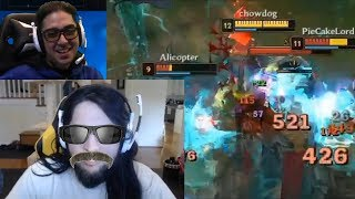 """Imaqtpie: """"I DrDisrespected Lisha Only This Way""""   Trick2G Made Riot Employee Hate League   LoL"""