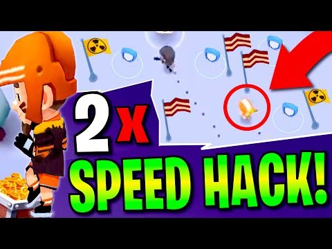 IS HE SPEED HACKING?? Battlelands Royale 2x SPEED HACK Gameplay (Unlimited Health Trick)