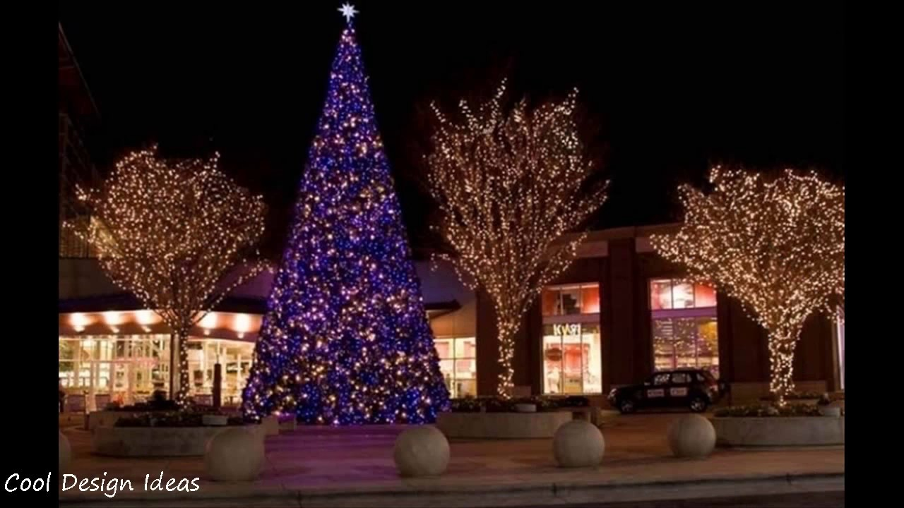 Outdoor christmas tree lights decorations youtube outdoor christmas tree lights decorations aloadofball Images