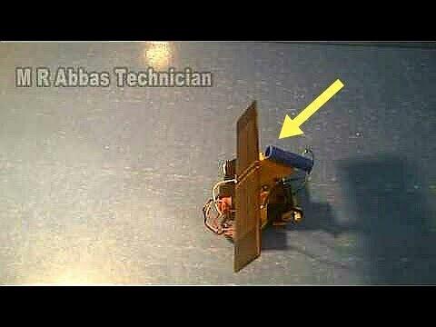 Very Easy Make solar tracker. DIY solar panel sun tracker