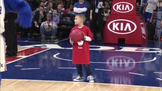 Sixers Kid Dunk Contest Video