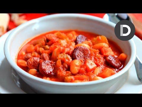 Spicy Tomato Chorizo Soup Recipe!