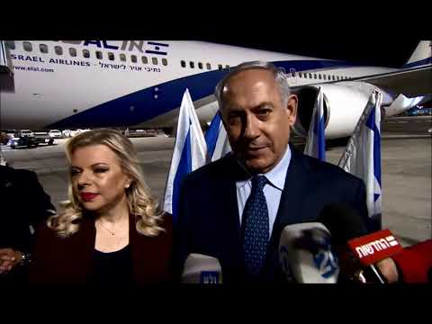 PM Netanyahu's Remarks prior to boarding his plane to the US:
