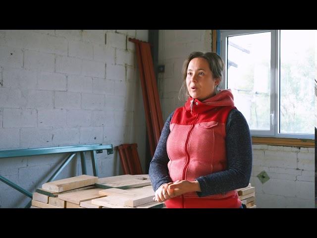 Martine Gougeon ancienne participante de 2001 recommande les programmes de Bois Urbain.
