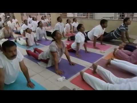 Be & Make  Swami Vivekananda Yoga by Farzin Sholapurwala at Maruthinagar, Bangalore