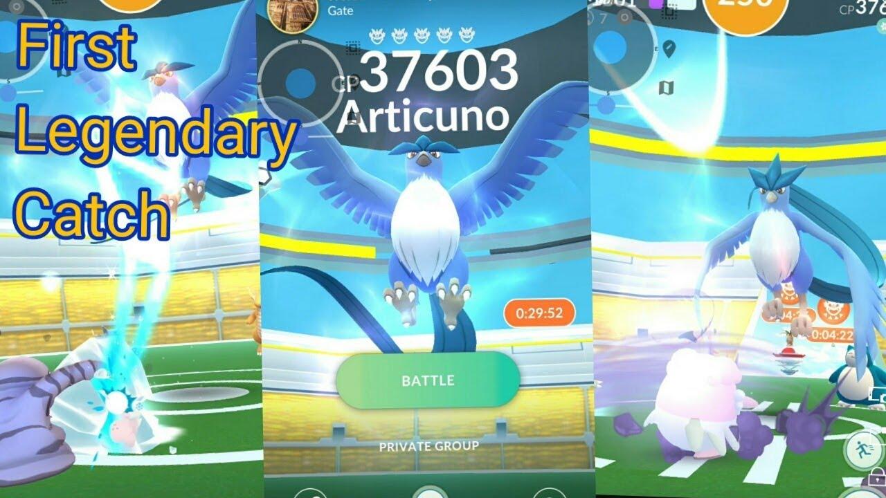 pokemon go legendary how to catch