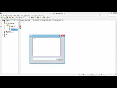 Java Chat Application Using GUI Architecture