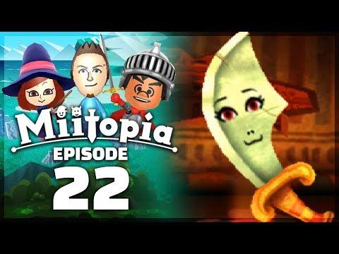 Miitopia - Part 22: BLADE & SHIELD BOSS! [Nintendo 3DS Full Version]