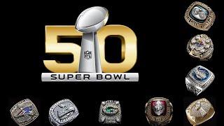 All Super Bowl rings 🏈