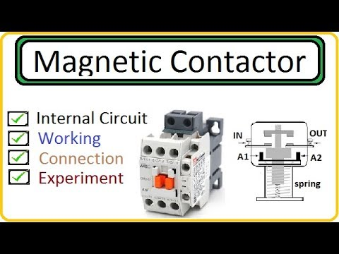 [TBQL_4184]  Magnetic Contactor in Hindi Part (1) - YouTube | A1 A2 Contactor Wiring Diagram |  | YouTube