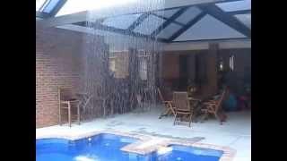 Waterfall Enclosure by Bay Aluminum & Screen