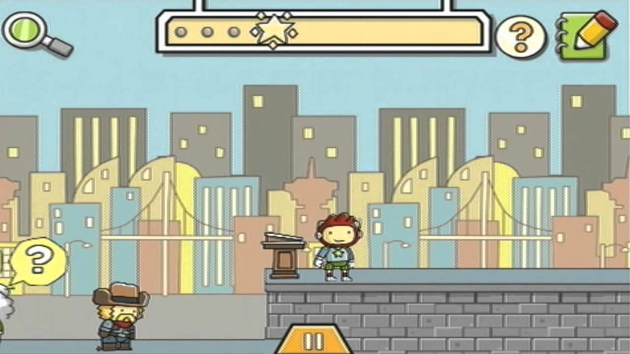 Scribblenauts Remix Walkthrough - World 2 - Level 2-8