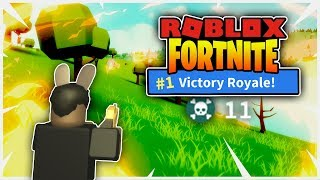 Roblox Fortnite - BACK TO BACK VICTORY ROYALE!! (Island Royale)