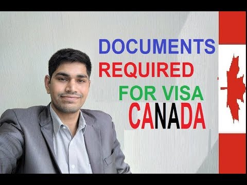 Basic Documents Required For Canada VISA