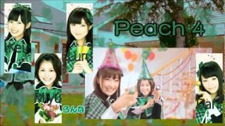 Peach 4 (ピーチ4) PARTY TIME Cast: ❀Risako Sugaya (菅谷 梨沙子) - D...