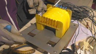 Démontage & calcul/rebobinage, d'un transformateur de 1000 VA en transfo. d'isolement.