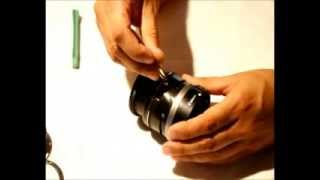 Canon EF-S 18-55 IS disassembly and flex cable repair - Part 1