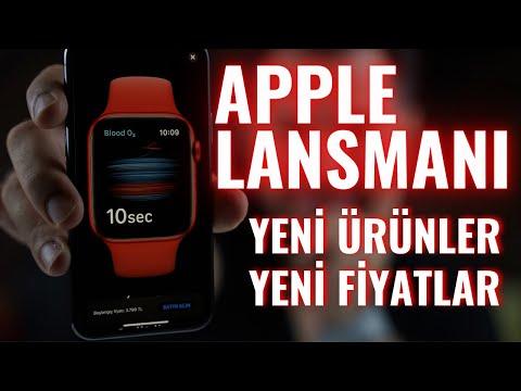 Apple lansmanı - iPhone 12 yok iPad Air ve Apple Watch SE