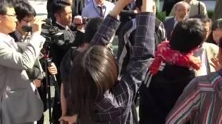 2015.10.27京大バリケードストライキに対する京大当局の弾圧2