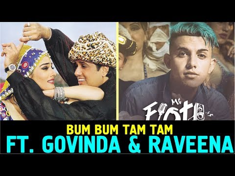 Bum Bum Tam Tam Ft. Govinda and Raveena Tondon | kondzilla | Bum Bum Tam Tam funny edit